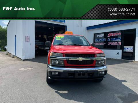 2008 Chevrolet Colorado for sale at F&F Auto Inc. in West Bridgewater MA