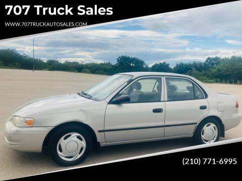 1999 Toyota Corolla for sale at 707 Truck Sales in San Antonio TX