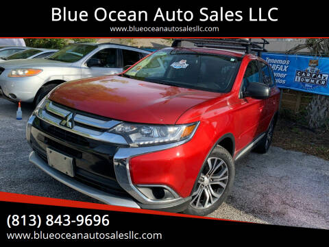 2016 Mitsubishi Outlander for sale at Blue Ocean Auto Sales LLC in Tampa FL
