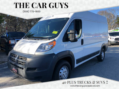 2016 RAM ProMaster Cargo for sale at The Car Guys in Hyannis MA