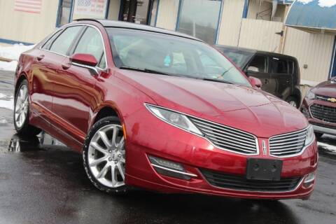 2014 Lincoln MKZ for sale at Dynamics Auto Sale in Highland IN
