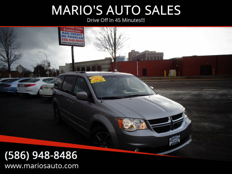 2017 Dodge Grand Caravan for sale at MARIO'S AUTO SALES in Mount Clemens MI