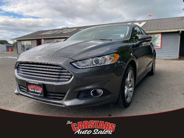 2016 Ford Fusion for sale at CARSTARS AUTO SALES in Olympia WA