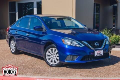 2017 Nissan Sentra for sale at Mcandrew Motors in Arlington TX