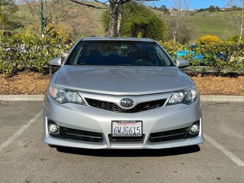 2012 Toyota Camry for sale at CARFORNIA SOLUTIONS in Hayward CA