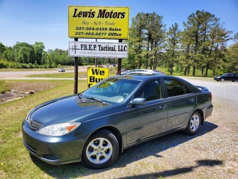 2002 Toyota Camry for sale at Lewis Motors LLC in Deridder LA