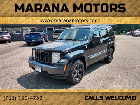 2011 Jeep Liberty for sale at Marana Motors in Princeton MN