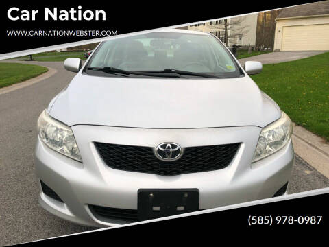 2010 Toyota Corolla for sale at Car Nation in Webster NY