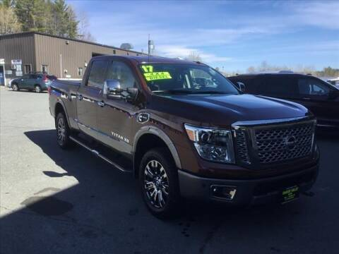 2017 Nissan Titan XD for sale at SHAKER VALLEY AUTO SALES in Enfield NH