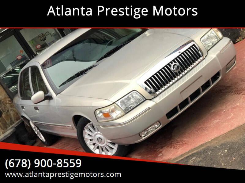 2008 Mercury Grand Marquis for sale at Atlanta Prestige Motors in Decatur GA