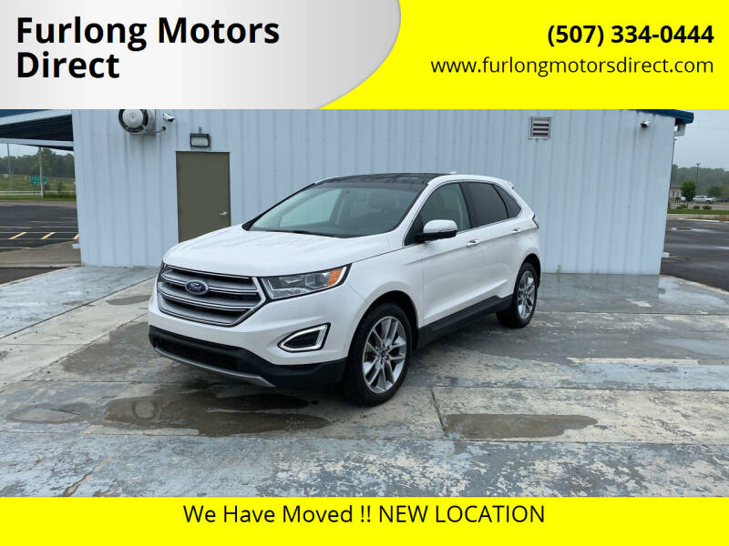 2018 Ford Edge for sale at Furlong Motors Direct in Faribault MN