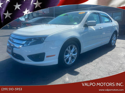 2012 Ford Fusion for sale at Valpo Motors Inc. in Valparaiso IN