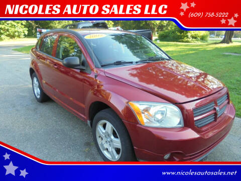 2009 Dodge Caliber for sale at NICOLES AUTO SALES LLC in Cream Ridge NJ