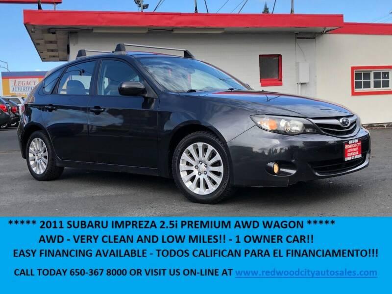 2011 Subaru Impreza for sale at Redwood City Auto Sales in Redwood City CA