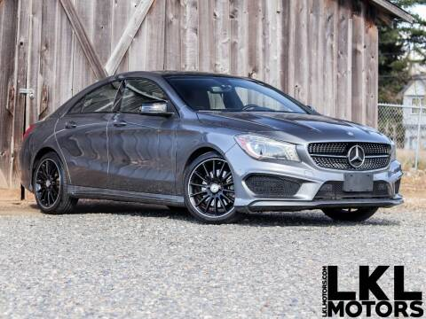 2014 Mercedes-Benz CLA for sale at LKL Motors in Puyallup WA