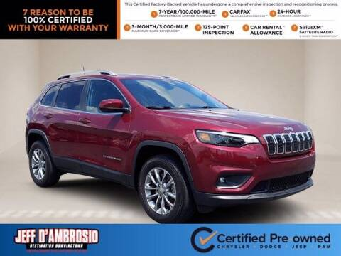 2019 Jeep Cherokee for sale at Jeff D'Ambrosio Auto Group in Downingtown PA
