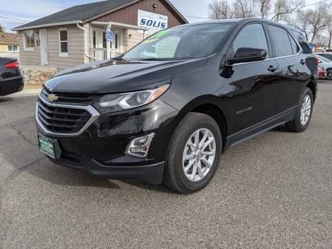 2020 Chevrolet Equinox for sale at SOLIS AUTO SALES INC in Elko NV