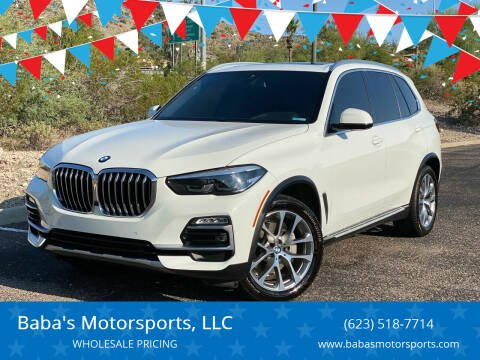 2019 BMW X5 for sale at Baba's Motorsports, LLC in Phoenix AZ