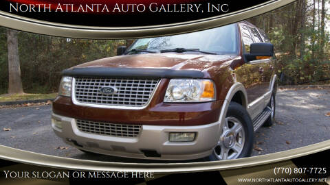 2006 Ford Expedition for sale at North Atlanta Auto Gallery, Inc in Alpharetta GA