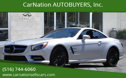 2015 Mercedes-Benz SL-Class for sale at CarNation AUTOBUYERS, Inc. in Rockville Centre NY