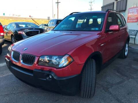 2005 BMW X3 for sale at Luxury Unlimited Auto Sales Inc. in Trevose PA