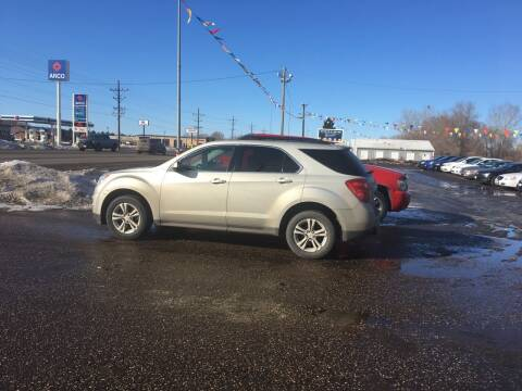 2013 Chevrolet Equinox for sale at BARNES AUTO SALES in Mandan ND