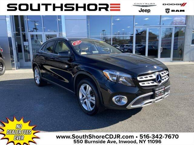 2018 Mercedes-Benz GLA for sale at South Shore Chrysler Dodge Jeep Ram in Inwood NY