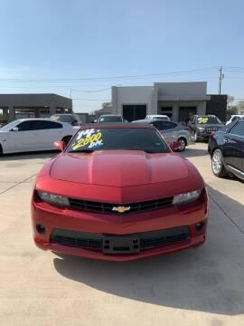 2014 Chevrolet Camaro for sale at A & V MOTORS in Hidalgo TX
