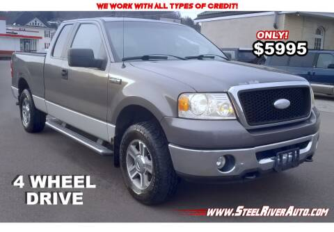 2007 Ford F-150 for sale at Steel River Auto in Bridgeport OH