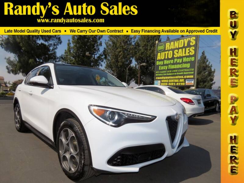 2018 Alfa Romeo Stelvio for sale at Randy's Auto Sales in Ontario CA