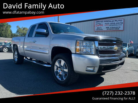 2011 Chevrolet Silverado 1500 for sale at David Family Auto in New Port Richey FL
