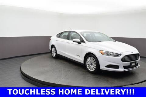 2015 Ford Fusion Hybrid for sale at M & I Imports in Highland Park IL
