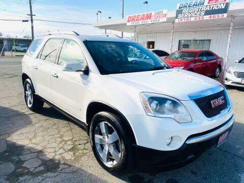 2011 GMC Acadia for sale at Dream Motors in Sacramento CA