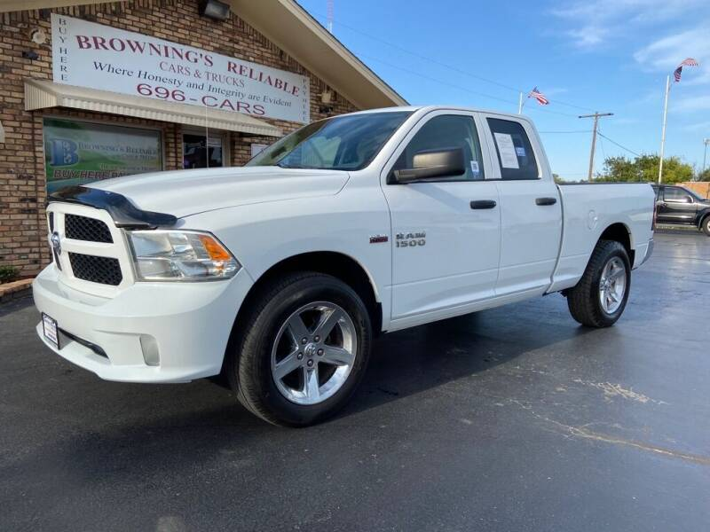 2013 RAM Ram Pickup 1500 for sale at Browning's Reliable Cars & Trucks in Wichita Falls TX
