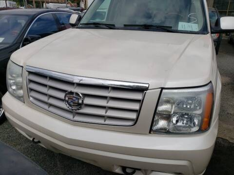 2003 Cadillac Escalade for sale at Jimmys Auto INC in Washington DC