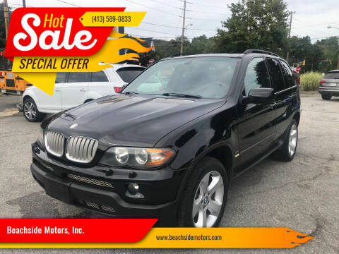 2004 BMW X5 for sale at Beachside Motors, Inc. in Ludlow MA