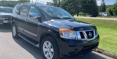 2011 Nissan Armada for sale at BURNWORTH AUTO INC in Windber PA
