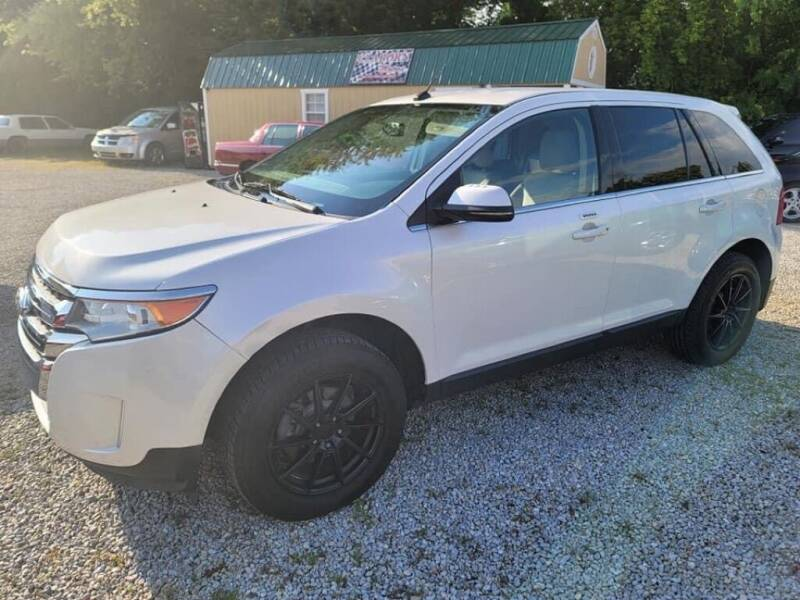 2012 Ford Edge for sale at Claborn Motors, INC in Cambridge City IN