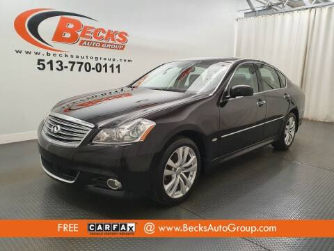 2008 Infiniti M35 for sale at Becks Auto Group in Mason OH