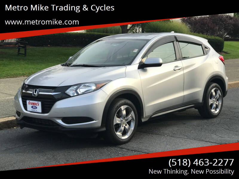 2016 Honda HR-V for sale at Metro Mike Trading & Cycles in Albany NY