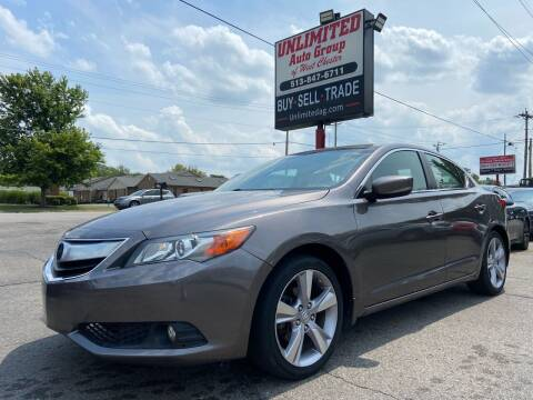 2015 Acura ILX for sale at Unlimited Auto Group in West Chester OH