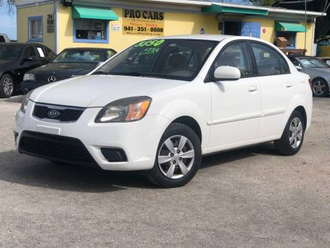 2011 Kia Rio for sale at Pro Cars Of Sarasota Inc in Sarasota FL