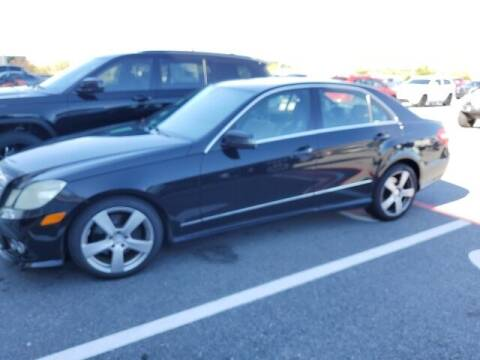 2010 Mercedes-Benz E-Class for sale at The Car Guy powered by Landers CDJR in Little Rock AR