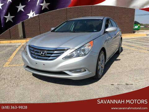 2012 Hyundai Sonata for sale at Savannah Motors in Cahokia IL