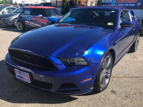 2013 Ford Mustang for sale at Mack 1 Motors in Fredericksburg VA
