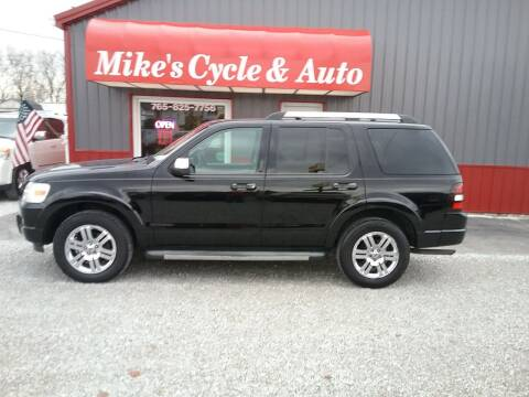 2010 Ford Explorer for sale at MIKE'S CYCLE & AUTO - Mikes Cycle and Auto (Liberty) in Liberty IN
