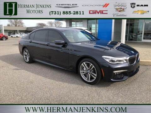 2017 BMW 7 Series for sale at Herman Jenkins Used Cars in Union City TN