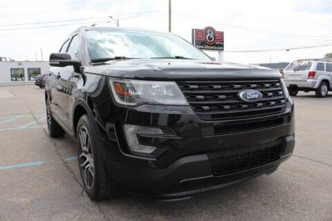 2017 Ford Explorer for sale at B & B Car Co Inc. in Clinton Township MI