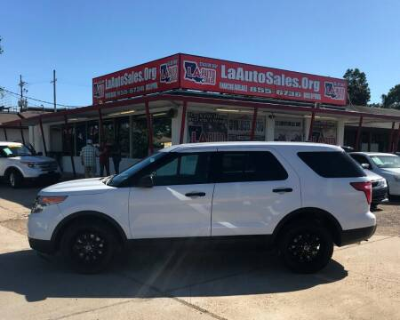 2014 Ford Explorer for sale at LA Auto Sales in Monroe LA