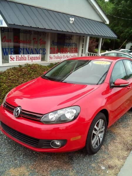 2011 Volkswagen Golf for sale at Locust Auto Imports in Locust NC